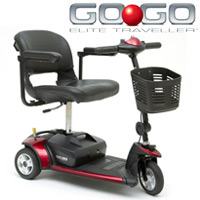 Pride Go Go Elite Traveller Scooter